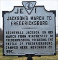 Image for Jackson's March to Fredericksburg