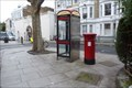 Image for Victorian Post Box - Baron's Court Road, London, UK