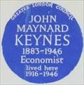 Image for John Maynard Keynes - Gordon Square, London, UK