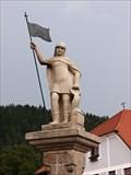 Image for Socha sv.Floriána - Rožmberk nad Vltavou, Czech Republic