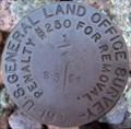 Image for GLO Quarter Section Corner Marker T19N R6E S3 & S2