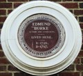 Image for Edmund Burke - Gerrard Street, London, UK