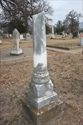 Image for William O. Harris -- Oakwood cemetery, Fort Worth TX