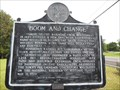 Image for Boom and Change - Loachapoka, AL