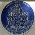 Image for Sir John Simon - Kensington Square, London, UK