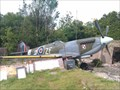 Image for Replica Spitfire near Newquay Int'l Airport, Cornwall