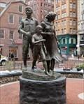 Image for Irish Potato Famine Memorial - Satellite Oddity - Boston, MA