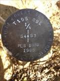 Image for T15S R9E S4 3 1/4 COR -- Deschutes County, OR