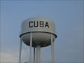 Image for Cuba Water Tower - Cuba, Missouri, USA.