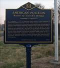 Image for AMERICAN POSITION Battle of Cooch's Bridge (NC-41) - Newark, DE