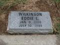Image for 100 - Eddie L. Wilkinson - Old Hall Cemetery - Lewisville, TX