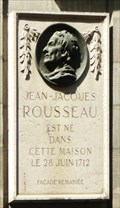 Image for Jean-Jacques Rousseau - Geneva, Switzerland