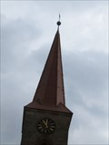 Image for Clock on St. Leonhard Church - Nurnberg, BY, Germany