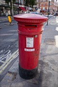 Image for Victorian Post Box - West End Lane, West Hampstead, London, UK