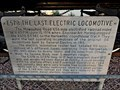 Image for E57B The Last Electric Locomotive - Harlowton, MT