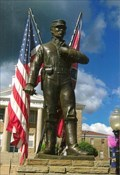 Image for Statue Honors Both Sides in Civil War - Double Springs, AL