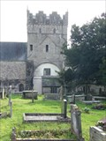 Image for Ewenny Priory - Churchyard - Wales, Great Britain.