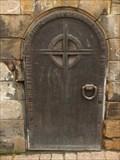 Image for Little iron door at Edith-Stein-Platz, Speyer - RLP / Germany