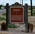 Image for Rodey NM