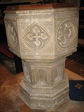 Image for Font - St Lawrence's Church - Church End, Willington, Bedfordshire, UK