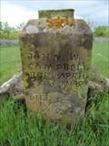 Image for John W. Campbell - Belcherville Cemetery - Belcherville, TX