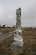 Image for Dr. J. M. & Rachel J. Davis - Baxter Springs Cemetery - Baxter Springs, KS