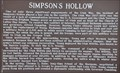 Image for Simpson's Hollow