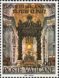 Image for The Papal Altar & Baldacchino in St Peter's Basilica - Vatican City