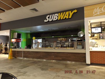 A new service centre, with a Subway outlet