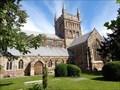 Image for Minster Church of St Cuthburga - Wimborne, Dorset, UK.