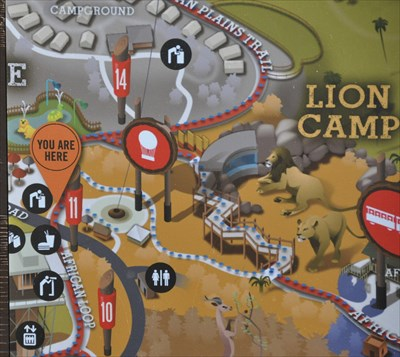San Diego Zoo Safari Park ~ African Loop - 'You Are Here