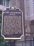 Image for Carl Sandburg Hall Historical Marker