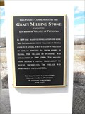Image for Blaine Lake, Grain Milling Stone
