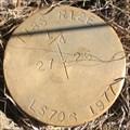 Image for T 18 S, R 12 E, 1/4 corner between Sec. 27 & 26 - Oregon