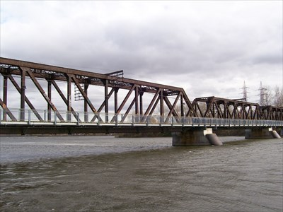Pont ferroviaire bordeaux laval qc railroad bridges on - Pont ferroviaire de bordeaux ...