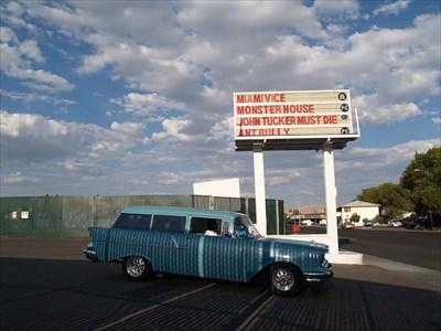 El rancho drive in theater