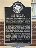 Image for Fair Grounds Base Ball Park
