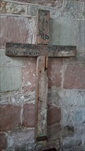 Image for Wooden field cross - St Mary - Kempsey, Worcestershire