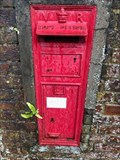 Image for Victorian Wall Post Box in Odiham, Hampshire, UK