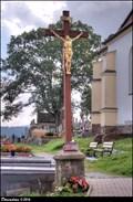 Image for Cross at Church of the Most Holy Trinity / Kríž u kostela Nejsvetejší trojice - Ledec nad Sázavou (Vysocina)