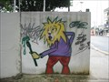 Image for Lion Graffiti - Sao Paulo, Brazil