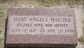 Image for 100 - Mary Angell Higgins - El Reno Cemetery - El Reno, OK