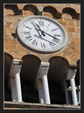 Image for Clock on the bell tower of the Church of San Jacopo Maggiore - Altopascio, Italy