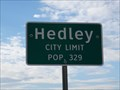 Image for Hedley, TX - Population 329