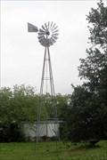 Image for Windmill in a city lot - Fredricksburg Texas