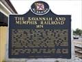 Image for The Savannah And Memphis Railroad - Alexander City, AL