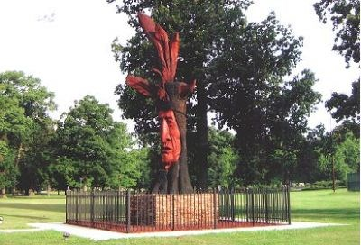 Toth has done other Indian sculptures, one in Troy, Kansas (BruceS has entered it here)