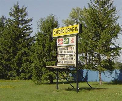 oxford drivein woodstock ontario canada drivein