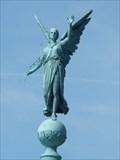 Image for Victoria, Roman Goddess of Victory - Ivar Huitfeldt Column - Copenhagen, Denmark