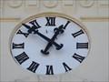 Image for Town Clock - Podolí, Czech Republic